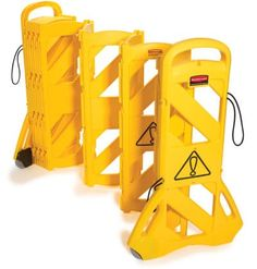 Mobile yellow barrier