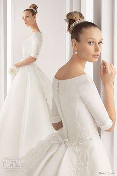 Rosa Clará. Vestido de novia. Bridal dress.