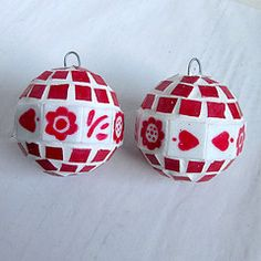 Hand made baubles