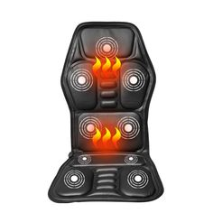 Auto Replacement Parts: Best Seller Heated Back Massage Seat Topper Car Home Office Seat Massager Heat Vibrate Cushion Back Neck Massage Chair Massage Relaxation Massage Dos, Neck Massage, Massage Chair, Massage Quotes, Thai Massage, Sierra Leone, Uganda, Massage Relaxant, Neck And Back Massager
