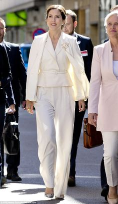Crown Princess Mary shares a close bond with her Swedish counterpart and attended the chri...