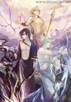 Mith_Zeus_Hades & Poseidon_Zeldacw