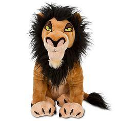 The Lion King Scar Plush -- 18''