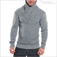 MADE TO ORDER shawl collar Sweater V neck men turtleneck hand knitted sweater cardigan pullover men clothing handmade men's knitting cabled