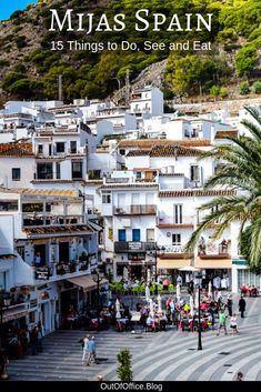 Mijas Spain is full of winding cobble stoned streets, wrought iron balconies & hanging flower pots with a panoramic view of the Mediterranean coastline. Europe Destinations, Europe Travel Tips, European Travel, Travel Expert, Holiday Destinations, Tenerife, Malaga, Ibiza, Mijas Spain