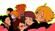 Tags: Fanart, NARUTO, Pixiv, Fanart From Pixiv, Uzumaki Himawari, Uchiha Sarada, Uzumaki Boruto, Nara Shikadai, Yamanaka Inojin, Pixiv Id 8088802, Akimichi Chouchou Yamanaka Inojin, Shikadai, Uzumaki Boruto, Naruhina, Anime Naruto, Sasuke, Naruto Gaiden, Naruto New Generation, Naruto The Movie