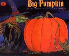 Big Pumpkin!  This is one of my all-time favorite Halloween book!  Follow the link for a bundle of activities to go along with this book.  Perfect for helping out in the classroom this month!