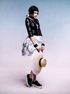 Cara Delevingne for Chanel Cruise 2013 by Karl Lagerfeld - Fashion | Popbee