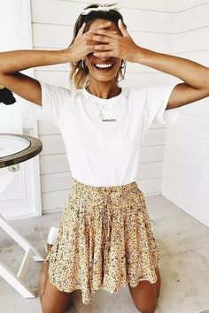 Black and White Street Style Outfits for Teens To Copy Right Now Mode Outfits, Girly Outfits, Skirt Outfits, Vintage Outfits, Fashion Outfits, Fashion Fashion, Maxi Dresses, Fashion Ideas, Womens Fashion