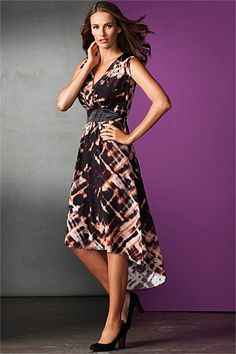Grace Hill - Grace Hill Cross Front Dress