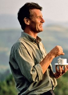 Michael Palin and a cup of tea.