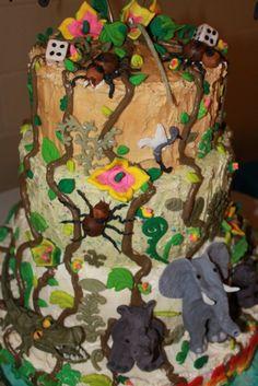 More JUMANJI cake @ THE WALK (January 27, 2013)