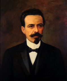Retrato de Nilo Peçanha, 7º Presidente do Brasil Auguste Petit (França, 1844 — Brasil, 1927) óleo sobre tela, 65 x 54 cm Museu de H...