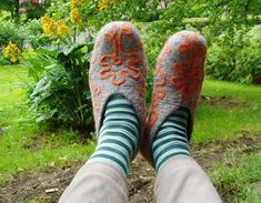 Slippers, Hiking Boots, Felt, Socks, Sneakers, Pattern, Fashion, Walking Boots, Stockings