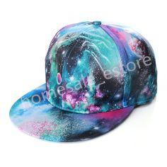 Fashion-Baseball-Flat-Bill-Hat-Men-Women-Snapback-Hip-Hop-Adjustable-Cap-Unisex