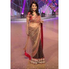 Buy Madhuri Dixit Viscose Net Fabric Bollywood Replica Saree - Dealtz.com