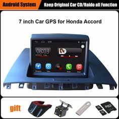 "Android 5.1.1 1024*600 Quad core 10.1"" android Car radio GPS Navigation for HONDA Accord 7 2003-2007 Built-in Bluetooth Radio#honda accord navigation"