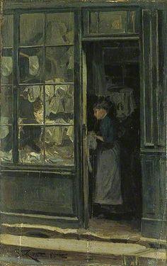 Walter Richard Sickert, The Laundry Shop