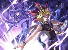 Dark Magician (Mahad) and Yami Yugi (Atem)