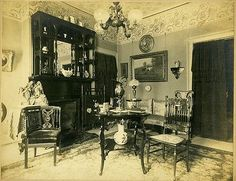 A typical parlor for
