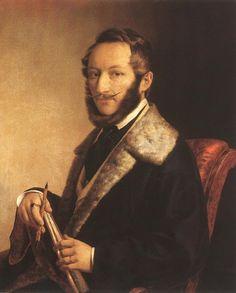 Self-Portrait  by Miklós Barabás