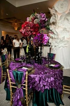 Tables & center pieces