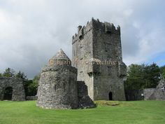 Really want to go back herr. Aughnanure Castle, Oughterard, Co. Galway – c.1490.  Ireland