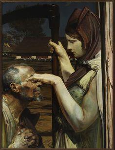 Death, Malczewski, Jacek (1854-1929), Muzeum Cyfrowe dMuseion - Śmierć