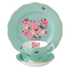 Blessings 3-Piece Tea Place Setting Royal Albert Miranda Kerr