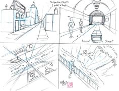 One Point Perspective and Depth p2 by Diana-Huang.deviantart.com on @deviantART