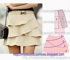 Tremendous Sewing Make Your Own Clothes Ideas. Prodigious Sewing Make Your Own Clothes Ideas. Skirt Patterns Sewing, Clothing Patterns, Skirt Sewing, Diy Clothing, Sewing Clothes, Fashion Sewing, Diy Fashion, Fashion Tips, Costura Fashion
