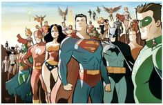 DC heroes.