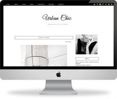 Urban Chic - Premade #Blogger Template by @kaybrightondes | Urban Chic is a chic and modern magazine style premade Blogger template that is super easy to install!