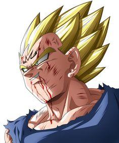 Goku Vs Majin Vegeta Dragon Ball Z Episode Fight. How strong was Majin Vegeta vs Goku? Did Vegeta had a chance when he when up against Goku in the Buu Saga? Dragon Ball Z Shirt, Dragon Ball Gt, Majin Tattoo, Cartoon Character Tattoos, Goku Y Vegeta, Pop Art Drawing, Arte Horror, Drawings, Heroes Book