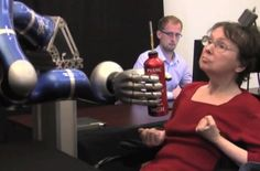 Video: In Breakthrough Study, Paralyzed Patients Move a Robotic Arm With Their Own Thoughts   Popular Science
