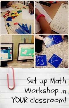 Ideas for setting up a successful math workshop in your class! - The Center Based Classroom