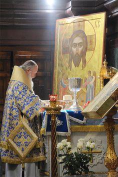Priest preparing for service <3