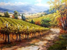It Must Be Provence by David Kim - It Must Be Provence Painting - It Must Be Provence Fine Art Prints and Posters for Sale