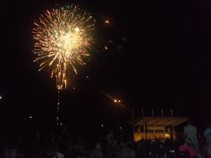 Patriotic Concert in downtown, Fayetteville at Festival Park. July 1st NC Symphony & fireworks display