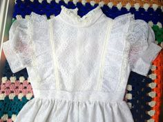 60s Lace Dress 5/6 by lishyloo on Etsy, $15.00
