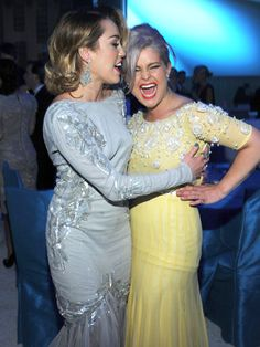 Miley knows that she can count on Kelly O. to have her back no matter what! These girls defend each other via Twitter against the harsh media and negative rumors, and always have the best time being their goofy, unique selves whenever they're together.   - Seventeen.com