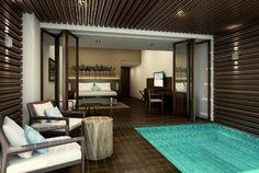 Jacuzzi at the Andaman Hotel - Langkawi - Malaysia
