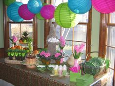 Alycia's gorgeous Easter buffet