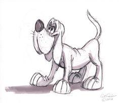 cartoon animal sketch | ... cartoon animals cartoons dogs elephants lions…