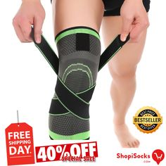 aba10d06ba Knee Support Brace - Premium Recovery & Compression Sleeve For Meniscus  Tear, ACL,