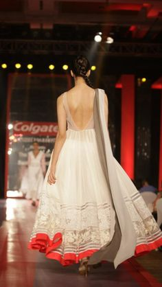 Manish Malhotra's vision in white. This man is a genius, okay?