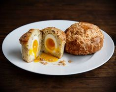 Bay Area Bites: San Francisco Breakfasts...The Rebel Within muffin at Craftsman and Wolves.