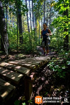 The road less travelled is always more fun. #RagnarTrailNorthwoods