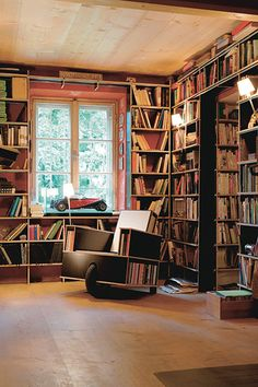 Trendy home library chairs book 62 Ideas Unique Furniture, Contemporary Furniture, Furniture Design, Book Furniture, Beautiful Library, Beautiful Space, Dream Library, Library Pictures, Library Chair