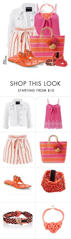 """""""Senza titolo #6507"""" by doradabrowska ❤ liked on Polyvore featuring maurices, Monsoon, Topshop, Tory Burch, Arthur Marder Fine Jewelry and Dezso by Sara Beltrán"""
